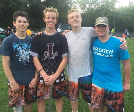 Wasatch LC's (from left) Sutton Caplan, Lincoln Robbins, Noah Lund and Kory Hoffman