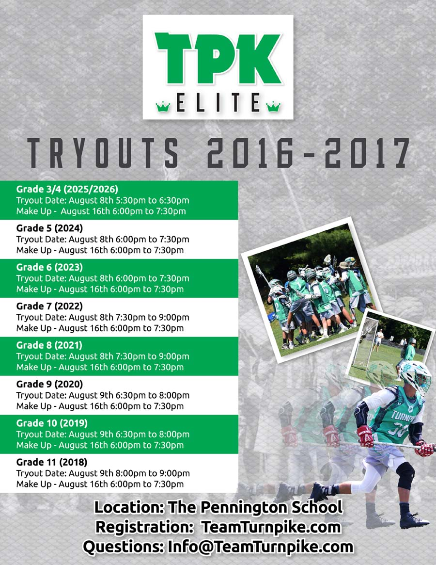 2016 Turnpike Updated Tryout Flyer copy