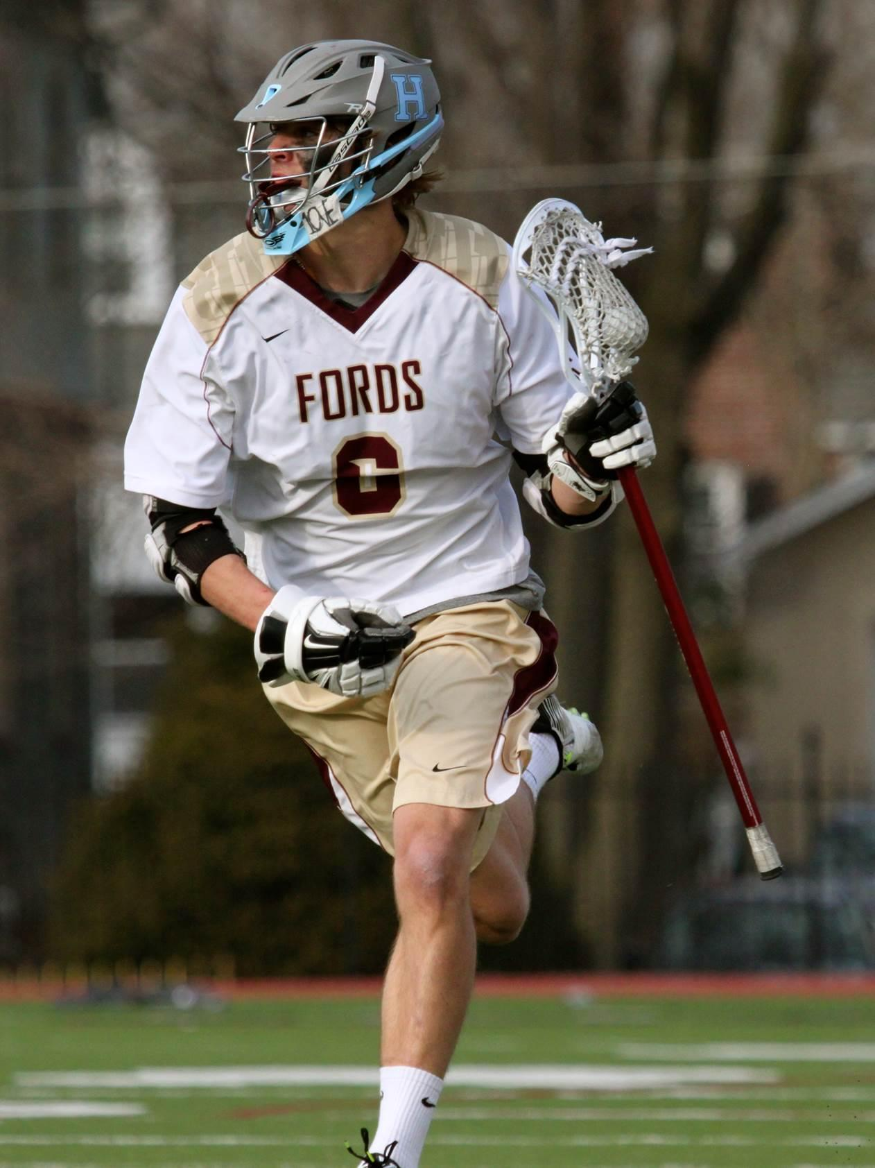 Haverford School senior midfielder Dox Aitken is the Phillylacrosse.com 2016 Co-Player of the Year (Photo by Lane Shima)