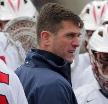 Penn coach Mike Murphy