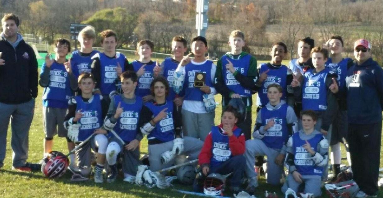 Duke's L.C. Young Guns 2021 won its divisioonal title at the Lehigh Lacrosse King of the Mountain