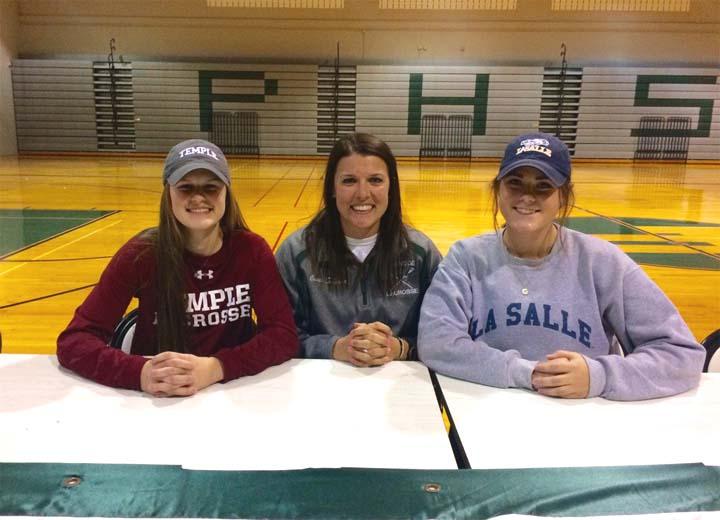 s Jennifer Rodzewich (Temple) & Maddie Dachowski (La Salle) will play collegiate lacrosse.