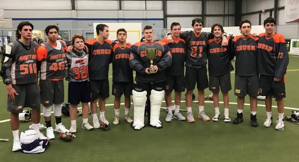 Teasm 91 Crush wins the HS JV Division title at the USBoxLA Northeast Regionals